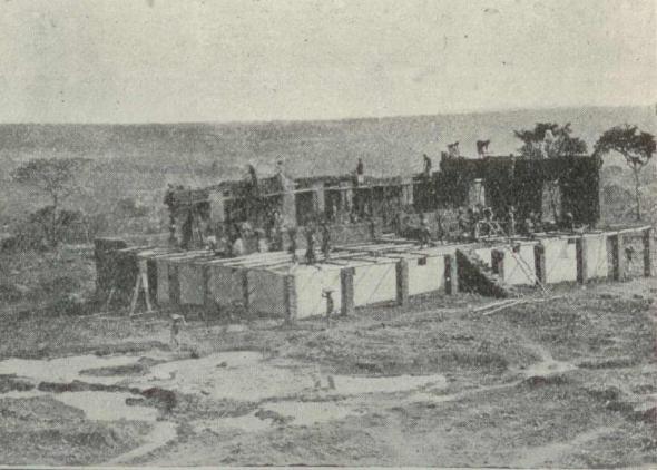 Bié – Construindo uma casa, Revista Colonial (1915, nº25)