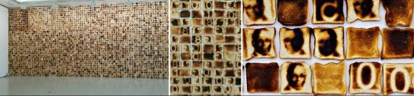'Pão nosso de cada dia' de Yonamine Miguel (cortesia do artista/Galeria Cristina Guerra)