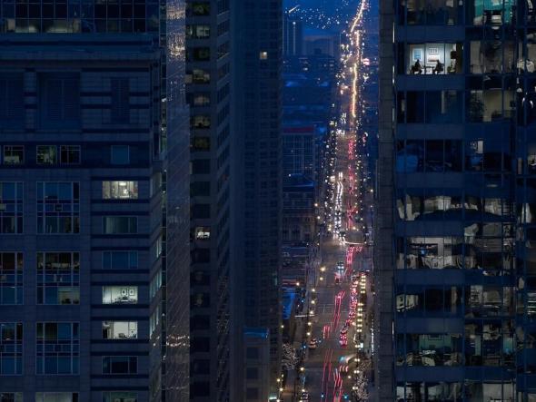 Michael Wolf, Transparent City (2015)