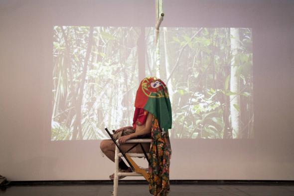 Registro performance, Museu Encantador, Eduardo Verderame