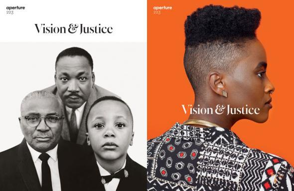 Três gerações de Luther King numa fotografia de Richard Avedon na capa da