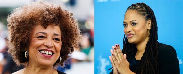 A activista feminista Angela Davis e a realizadora Ava DuVernay mostram como os legados de discriminação racial do passado subsistem no presente.