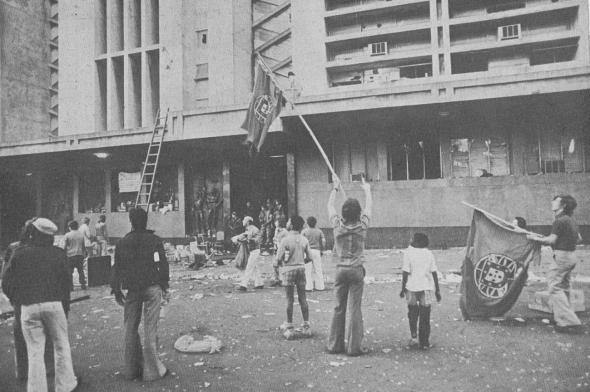 Rádio Clube de Maputo ocupado - Setembro de 1974