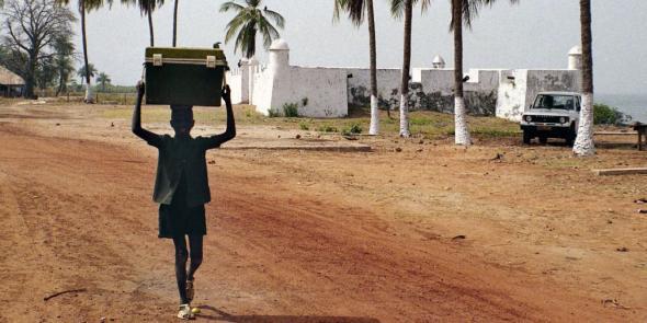 Memorial da Escravatura em Cacheu, Guiné Bissau