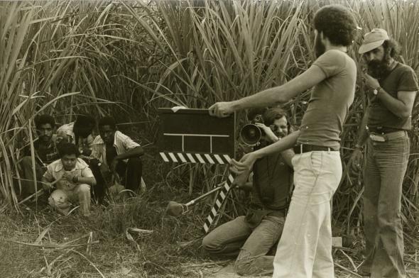 Duarte and TPA team filming their 'cinema of urgency' © João Silva