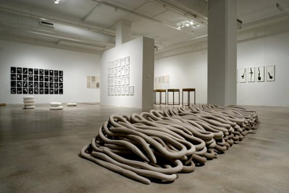 Ana Maria Maiolino, Territories of Immanence (retrospective exhibition), 2006, Miami Art Central, USA