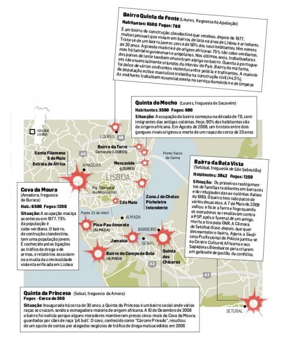 Mapa do Diário de Notícias (2010)