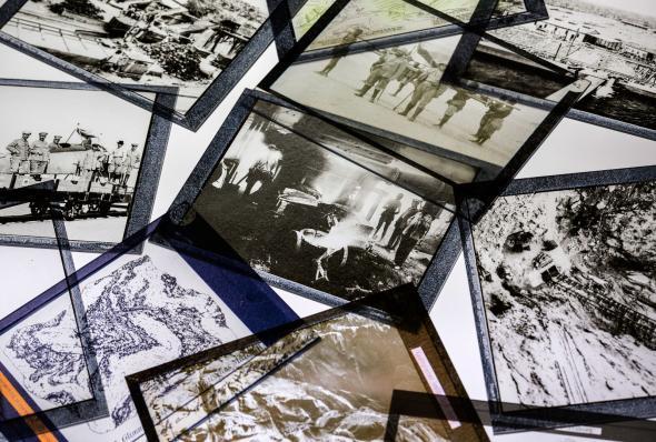 Detalhe da instalação de Otobong Nkanga, In Pursuit of Bling, 2014. Cortesia da artista e Berlin Biennale for Contemporary Art.