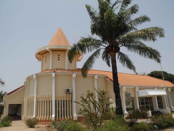 Edifício do Museu Etnográfico Nacional da Guiné-Bissau (na atualidade)