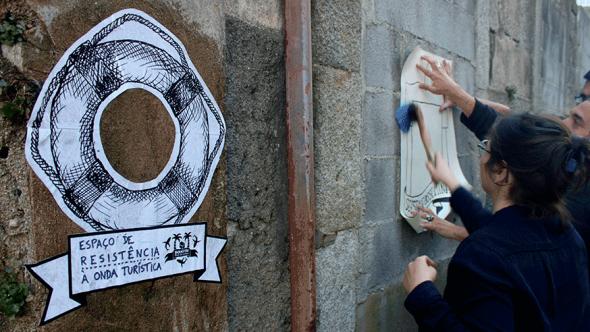 projecto anti-gentrificação no Porto dos Left Hand Rotation