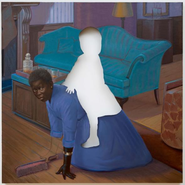 Space to Forget (óleo sobre tela) | 2014 | Titus Kaphar. Cortesia do artista e da galeria Jack Shainman, Nova Iorque