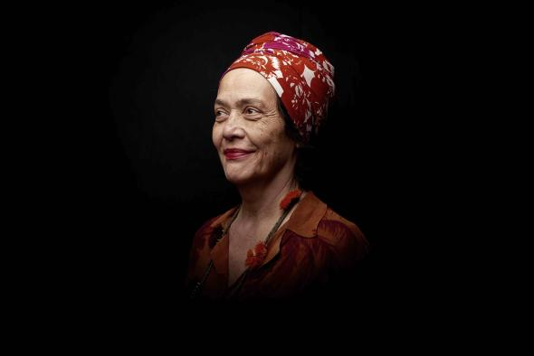 fotografia de Cyrille Choupas. Cortesia Françoise Vergès.