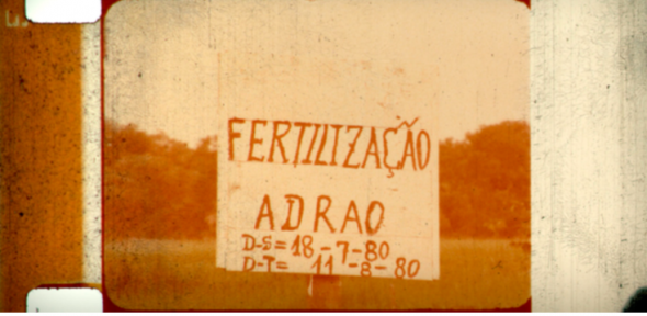 Still from José Bolama Cobumba, Josefina Crato, Flora Gomes, Sana na N'Hada, Guinea Bissau 6 Years After, 1980 (unfin- ished film), Guinea Bissau, INCA 1979–1980