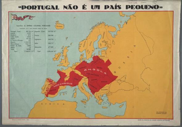 'Portugal não é um país pequeno', Exposição Colonial de 1934 (org Henrique Galvão)