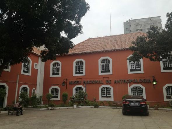 museu de antropologia, Luanda, foto de Marta Lança
