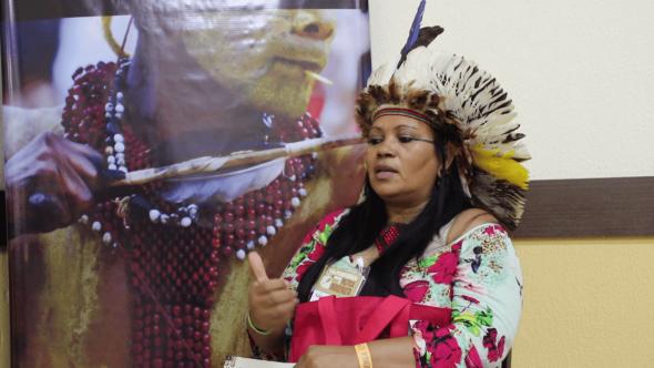 Voz das mulheres indígenas