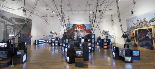 The palace at 4 am, diorama de Jon Kessler (2004)