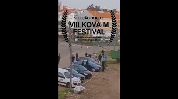 'Eu não sou Pilatus', passa na Mostra Internacional de Cinema na Cova'19 inserido na programação do  VIII Kova M Festival