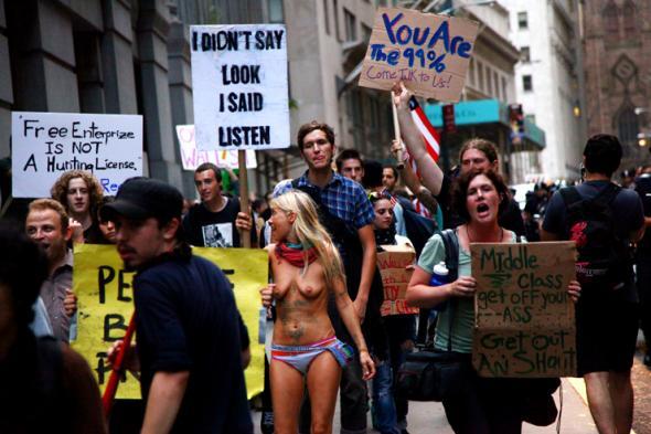 Occupy wall street, foto de Jaime Rojo