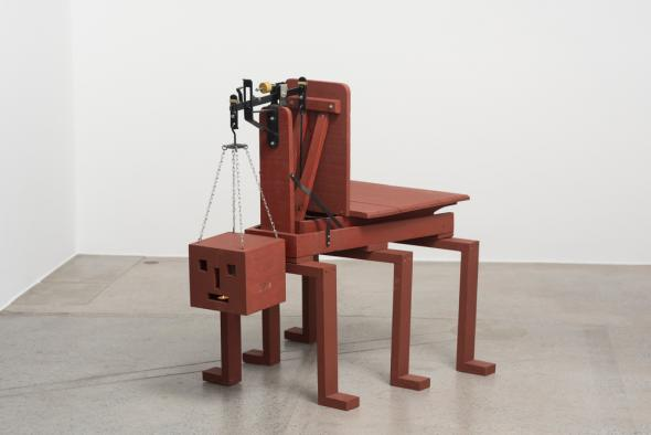 Marepe, A mosca vermelha, 2015 Marepe, Collection Gallery Luisa Strina, photo Edouard Fraipon