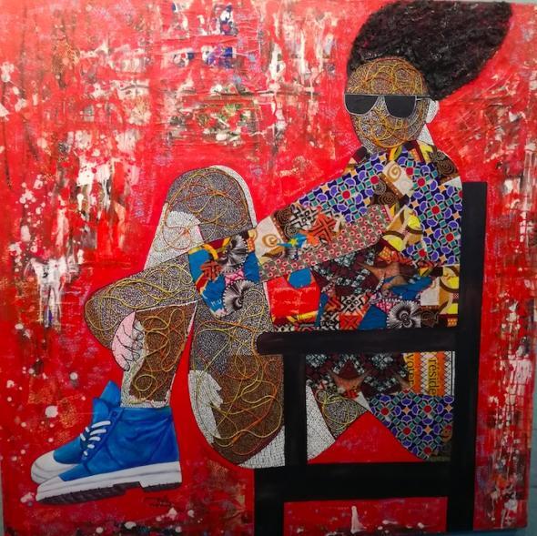 Mbela Glodi, Congolese artist