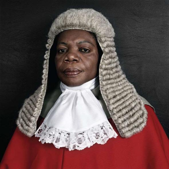 The Honourable Justice Julia Sakardie-Mensah, 2005,  Pieter Hugo, Cape Town
