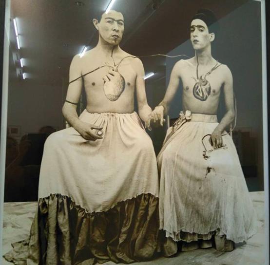 Las dos Fridas, yeguas del Apocalipsis 1989-1997 Chile (foto marta lança)
