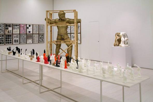 Daniel García Andújar,The Disasters of War, 2017 Mixed-media installation (foto Marta Lança)