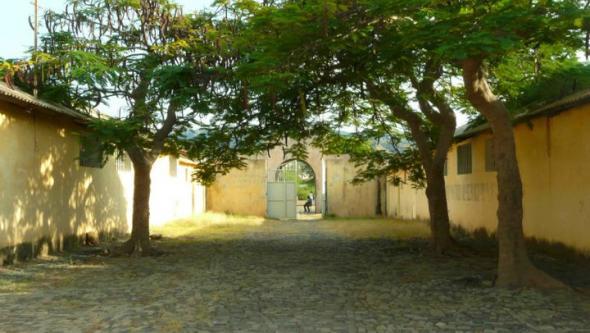 Campo do Chão Bom, Tarrafal em 2010. foto de Marta Lança