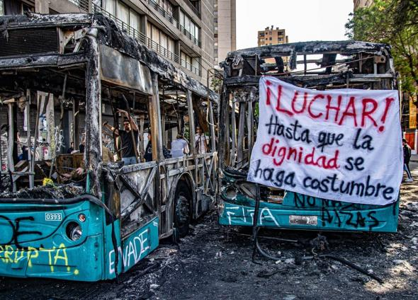 fotos de Pablo Mardones, Santiago do Chile 20 de outubro 2019