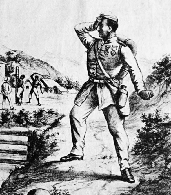 De volta do Paraguai | 1870 | Angelo Agostini
