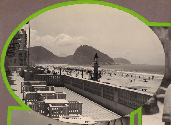 Copacabana, nos anos 20. Do arquivo familiar de Paulino Botelho