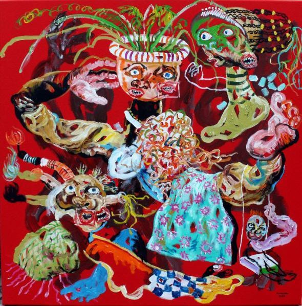 Zungueira | 2018 | Cristiano Mangovo (cortesia do artista)