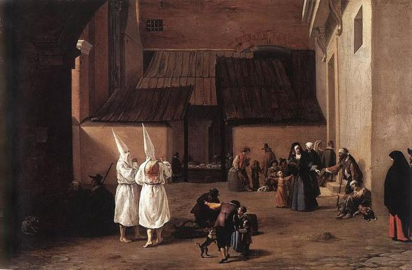 Pieter van Laer, The Flagellants (c. 1635), Munich, Alte Pinakothe
