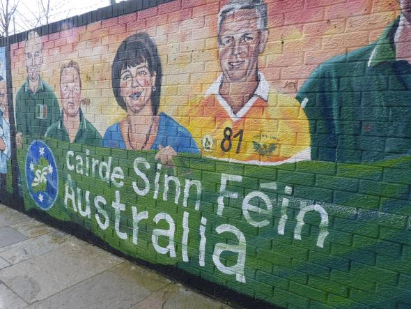 mural frente ao museu repulicano