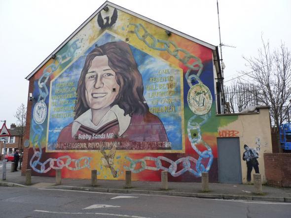 mural em bairro republicano