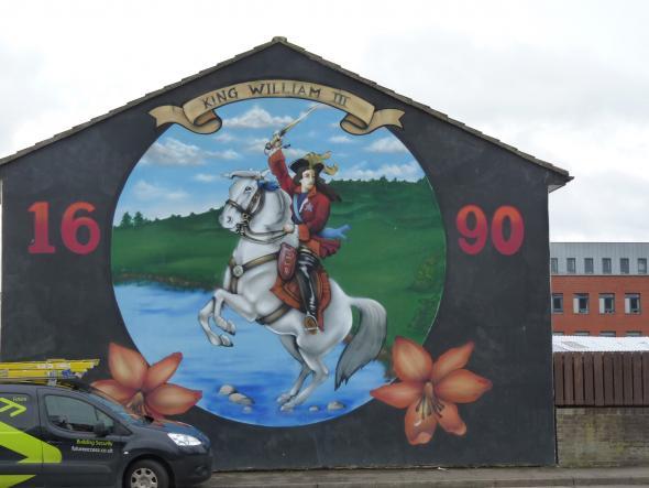 mural em bairro unionista