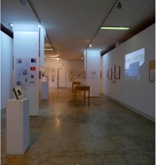 fig1 Uma Delicada Zona de Compromisso, Galeria Quadrum, Lisboa, 10 de dezembro 2015 – 7 de fevereiro 2016, vista da exposição.
