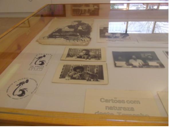 Fig 2 Material gráfico e fotográfico do coletivo Artistas em Pânico, Luanda, s/ data.