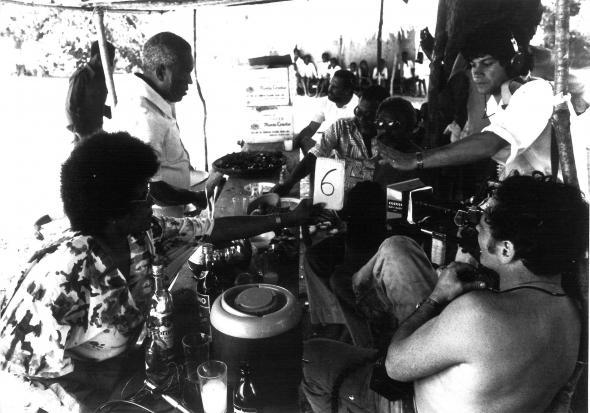 rodagem 'Des fusils pour banta', Sarah Maldoror/ Angola, o nascimento de uma nação. Vol. II