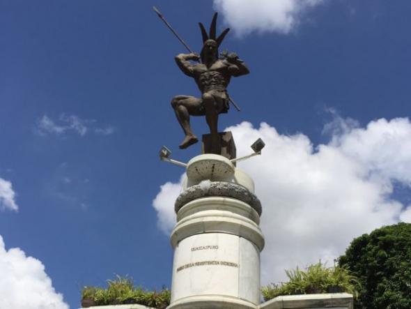 Na América Latina, o papel do capitão genovês tem sido contestada. AP