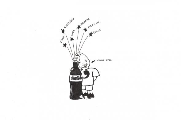Desenho de Ângelo Ferreira de Sousa, My Friend Gil