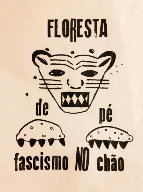 Floresta de Pé, Fascismo no Chão, por Denilson Baniwa