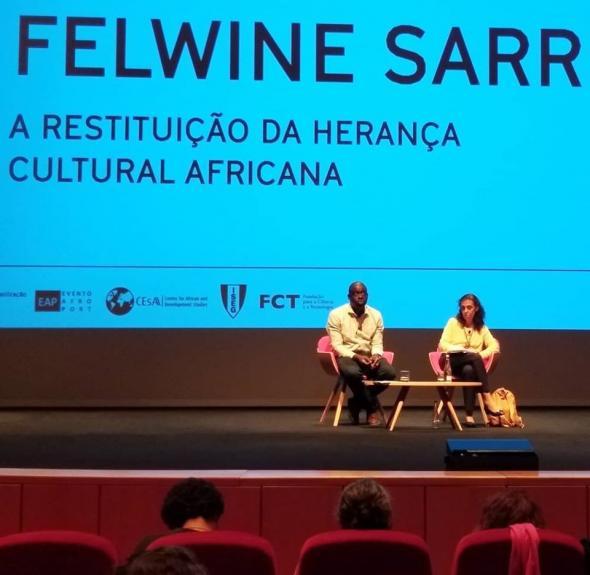 Felwine Sarr and Maria Paula Menezes, photo by Marta Lança