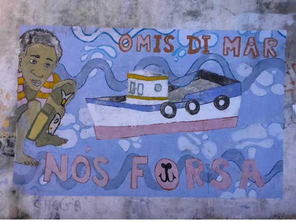 Mural, Santiago, 2019.