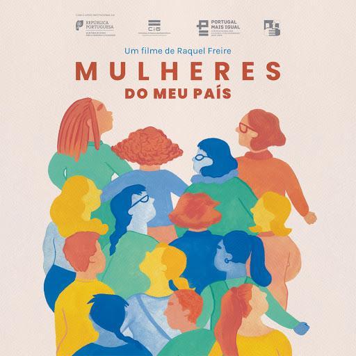 cartaz do filme 'Mulheres do meu país', de Raquel Freire