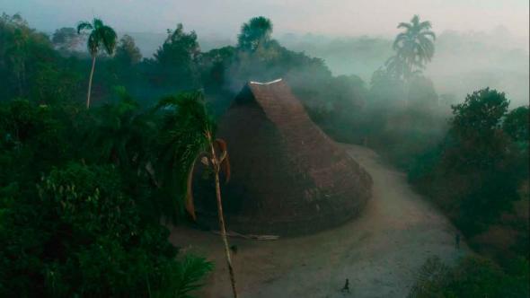 Malocas dos povos indígenas da Amazónia (Fundación Gaia Amazonia)