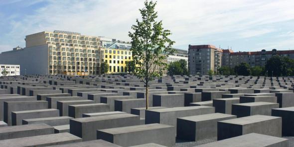 Memorial aos Judeus Mortos da Europa, também conhecido por Memorial do Holocausto (2015), arq Peter Eisenman