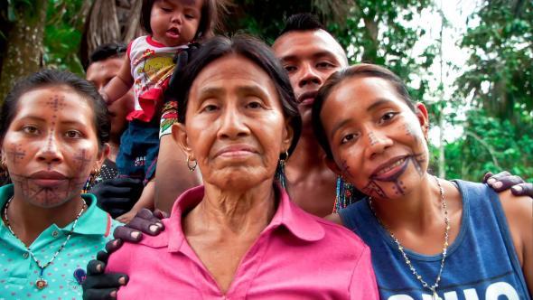 O Caminho da Anaconda congrega quase 400 povos indígenas. (El Sendero de la Anaconda)