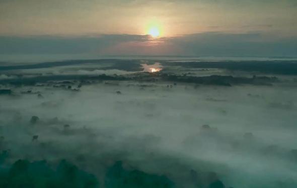 Os rios voadores sobre a Amazónia (El Sendero de la Anaconda)